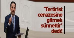 HDP, terörist cenazesine gitmeyi sünnet...