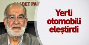 Karamollaoğlu yerli otomobili beğenmedi!