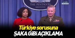 Pentagon sözcüsüne Türkiye soruldu! Şaka gibi açıklama...