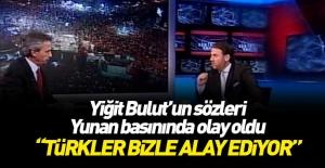 Yunan gazetesi: Türklerin alay konusu...