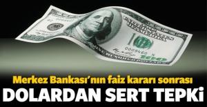 Merkez Bankası'nın kararı doları hareketlendirdi