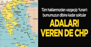 Adaları veren de CHP