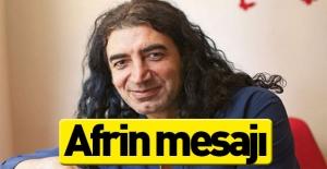 Murat Kekilli'den Afrin mesajı