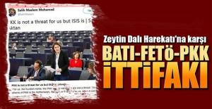 Zeytin Dalı Harekatı'na karşı BATI-FETÖ-PKK...