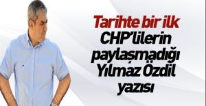 CHP'deki delege dengesizliğini Yılmaz...