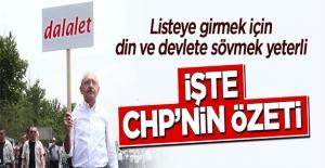 CHP'ye girmenin şartı dine küfretmek