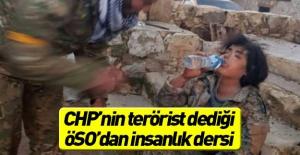 ÖSO'lu askerden insanlık dersi