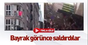 Berlin'de Türk evine saldırdılar