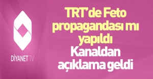 Diyanet'ten TRT'deki skandalla ilgili açıklama
