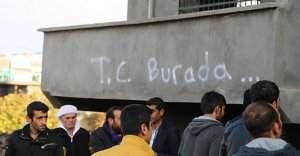 İdil'de hendek kapatmaya giden polise saldırı